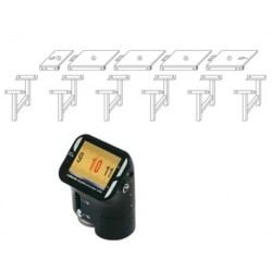 Calibration stand measuring tape