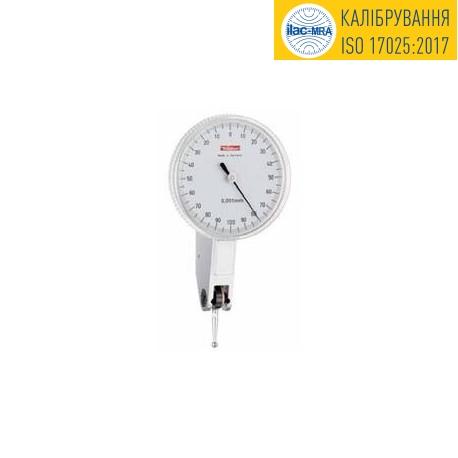 Dial test indicator DIN 2270 тип А K40AD