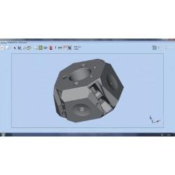 Программный модуль для контроля по CAD модели   Aberlink