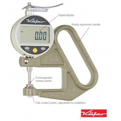 Tube thickness gauge