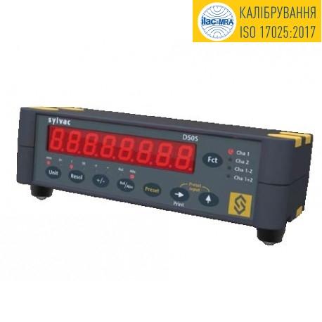 Дисплей вимірювальний Sylvac D50S
