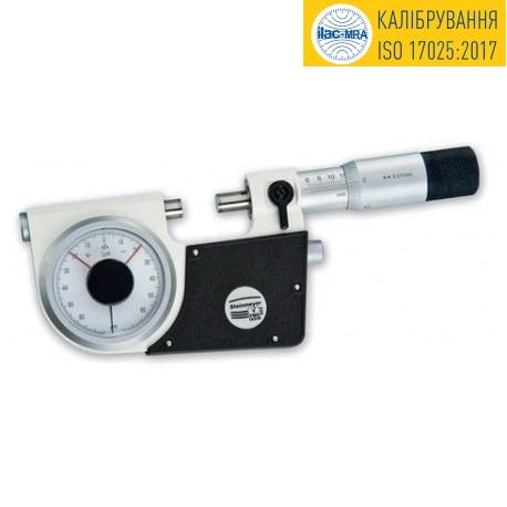 Микрометр рычажный МР-25