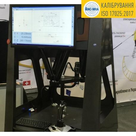 Development of methods of calibration of measuring equipment (FVT)