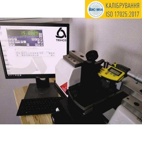 Услуга калибровки согласно стандарта ISO17025 микрометров