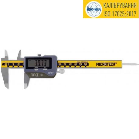 Calibrated precision caliper ШЦЦПП-150-IP67