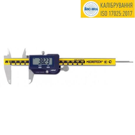 Штангенциркуль прецизионный тарированный ШЦЦПУ-150 IP-67