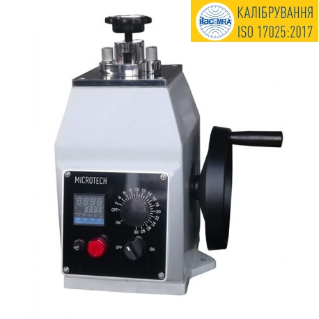 Термопреса для металографічних зразків ПМО-22