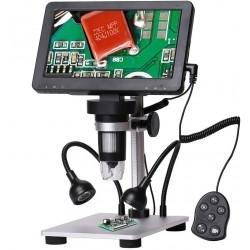 Мікроскоп цифровий МІКРОТЕХ з дісплеєм 7 дюймів 12 Мп МОД-1200