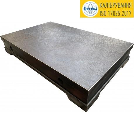 Плита повірочна чавунна 400х400