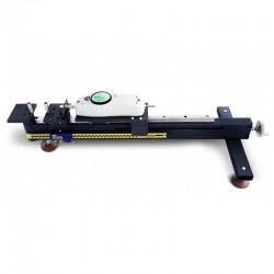Computerized stand for stretching length measurement 10-100 H